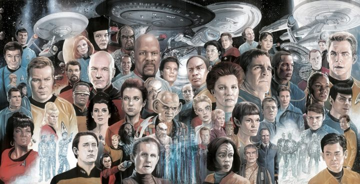 Star Trek Painting 720x368 Star Trek Painting