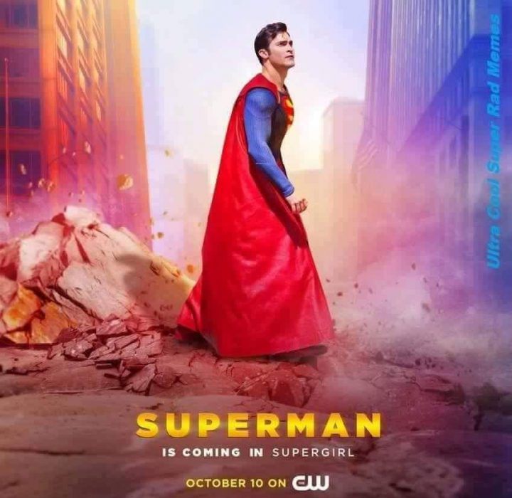 Superman is coming in Supergirl 720x700 Superman is coming in Supergirl Television superman supergirl Humor Comic Books