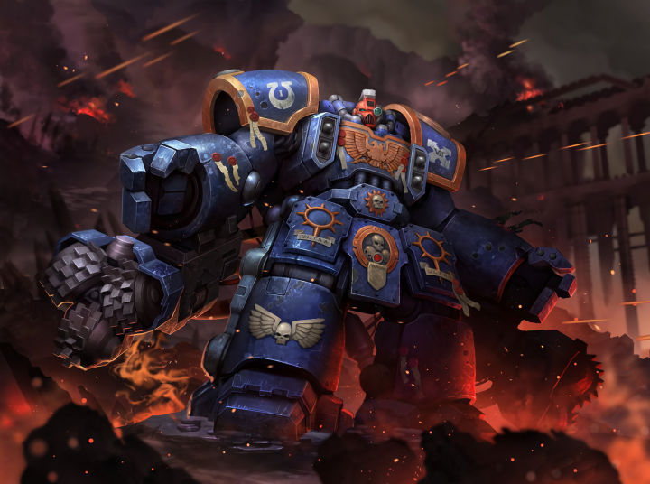 Warhammer space marine with optional tacticool attachments.png