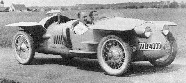 race car Benz RH Tropfenwagen