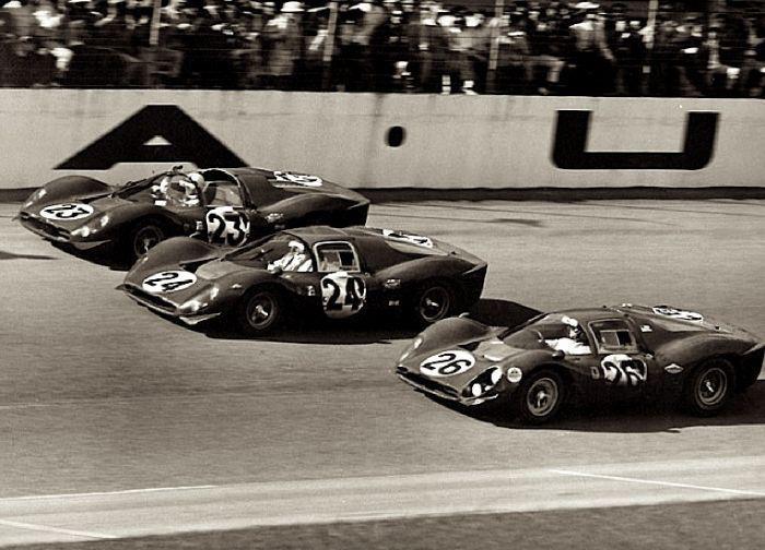 race cars 1967 24 Hours of Daytona