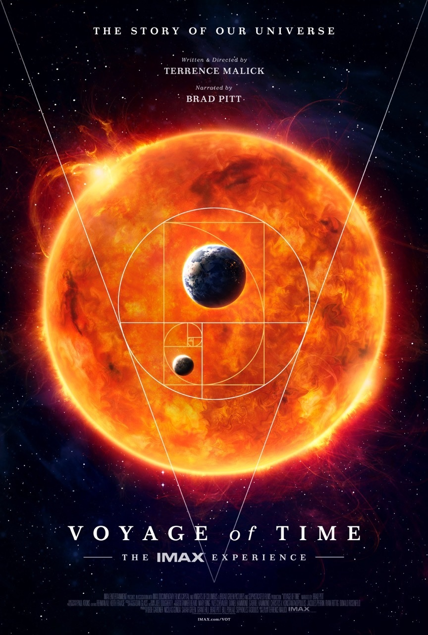 voyage of time sposter gallery VOYAGE OF TIME VOYAGE OF TIME trailer Terrence Malick poster brad pitt