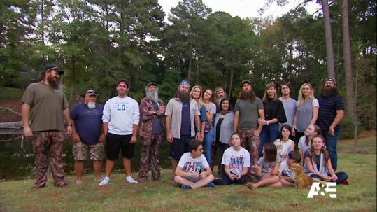 The Robertson family says the final season will be their best season yet on A&E. A&E