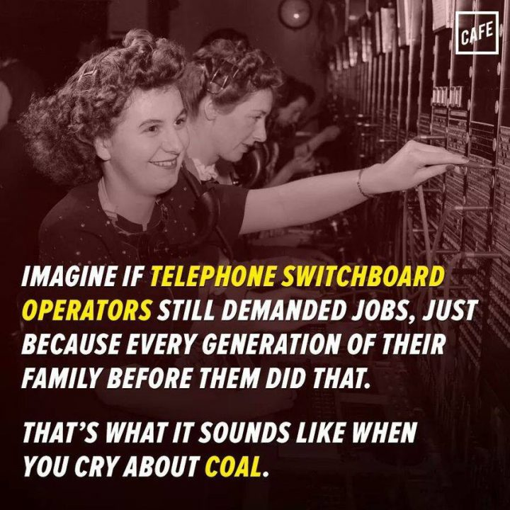 Imagine if telephone switchboard operators demanded jobs.jpg