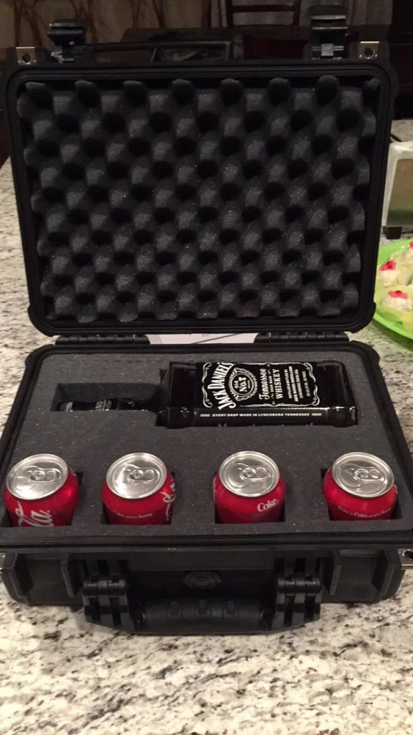 Jack and Coke survival kit