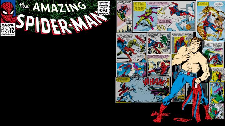 Steve Ditko's Spider-man.png