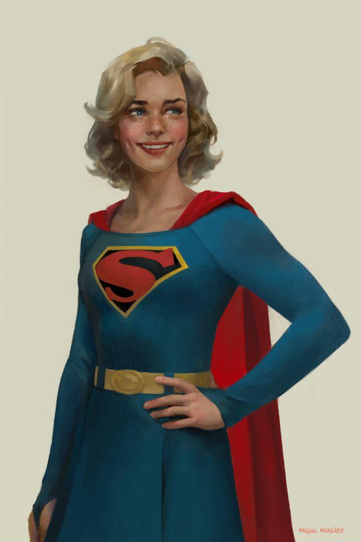 Classic Supergirl art