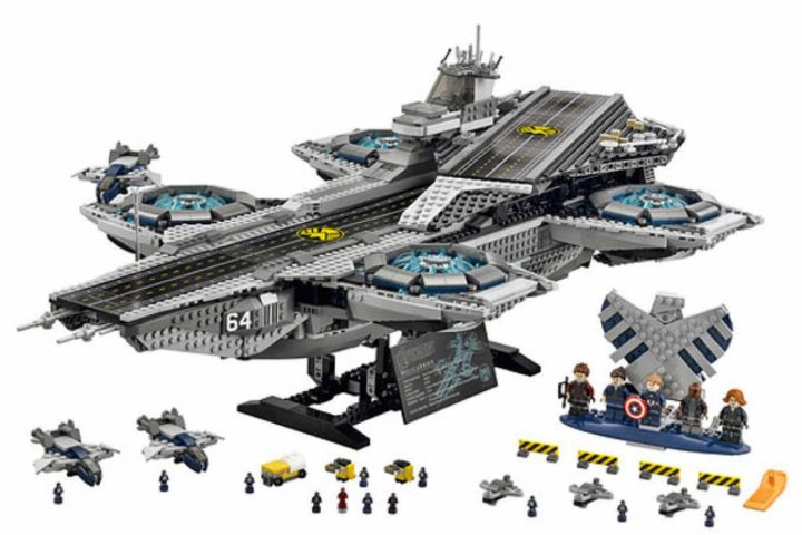 Shield Helicarrier in lego