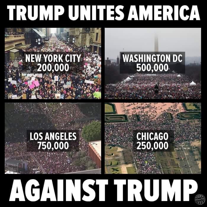 Trump Unites America Against Trump