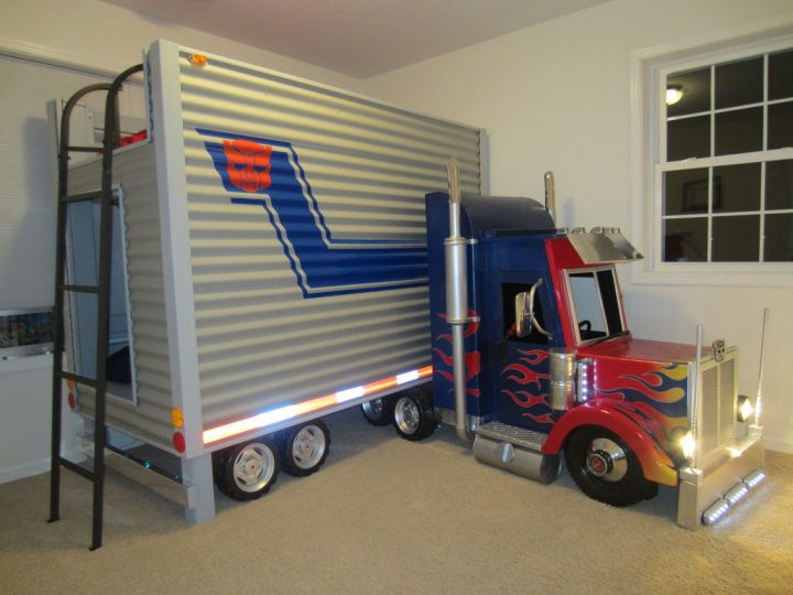 Transformers Bunk Bed