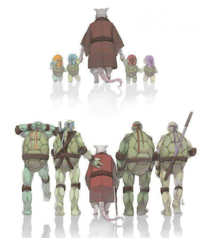Growing up with the TMNT
