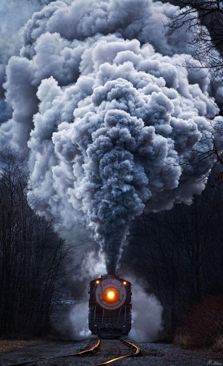 Smoking Train