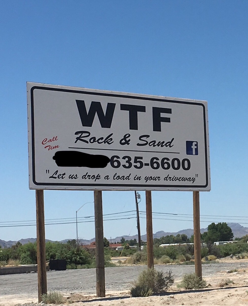 WTF Rock and Sand – Let us drop a load in your driveway.jpg