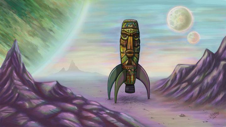 Tiki Rocket