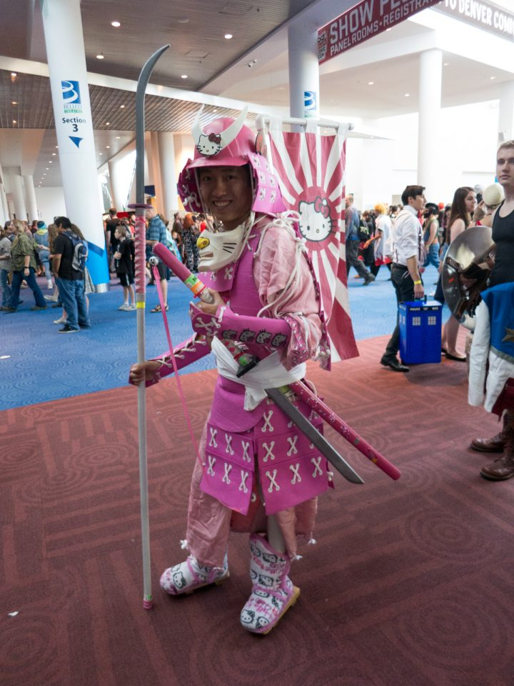 Hello Kitty Warrior