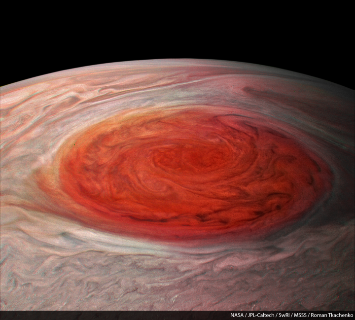 Jupiter Close Up