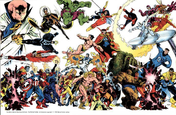 Marvel by Michael Golden