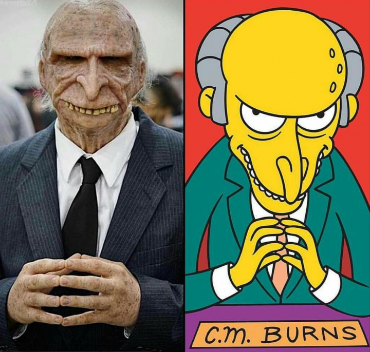Mr Burns Cosplay