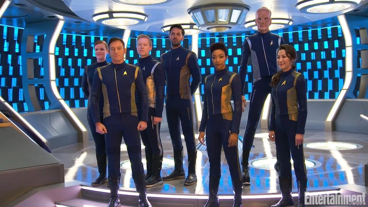 New Crew Of Star Trek Discovery Myconfinedspace