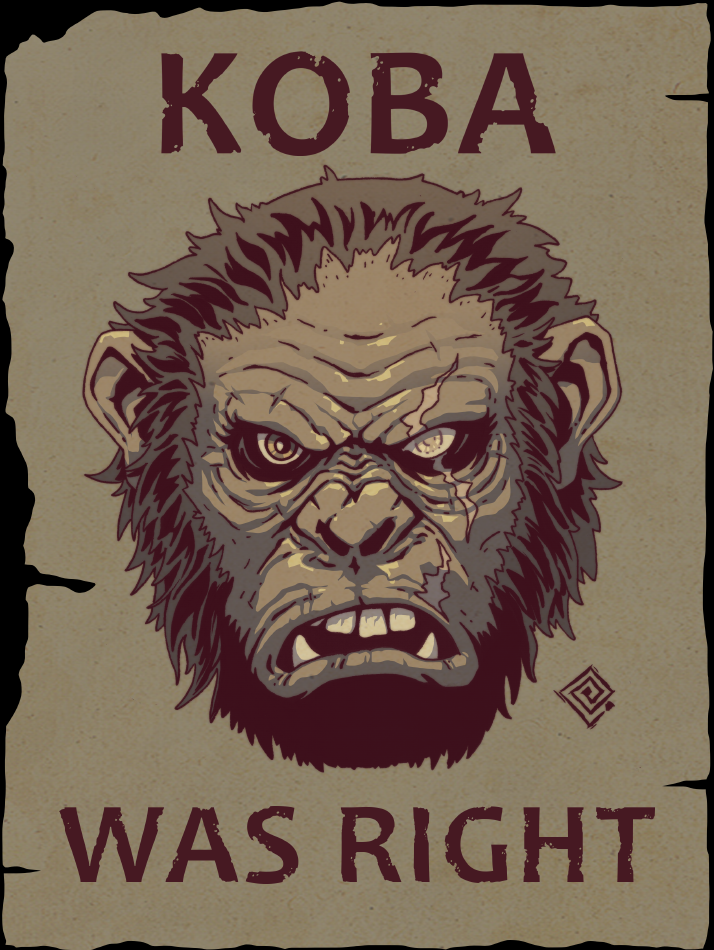 KOBA WAS RIGHT