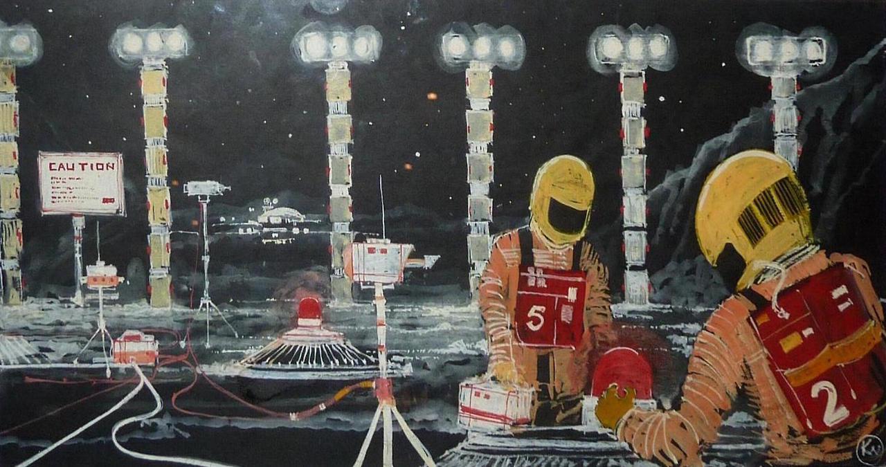 Space 1999 Concept Art