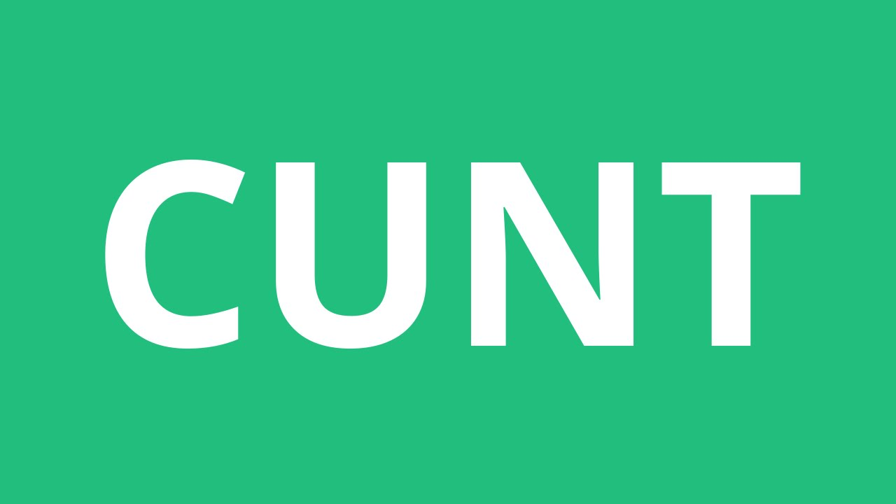 Cunt Green Screen