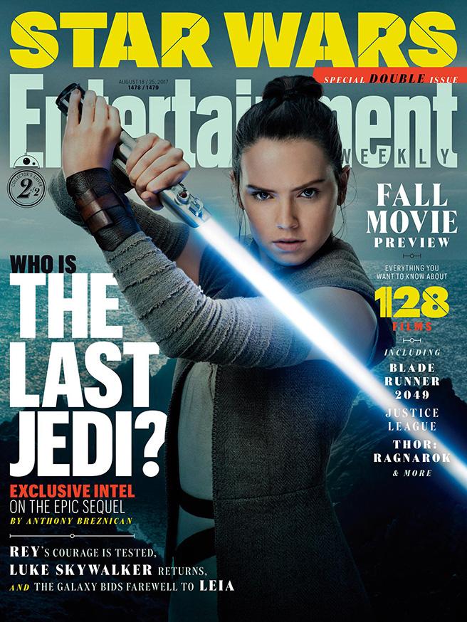 Star Wars The Last Jedi EW Covers