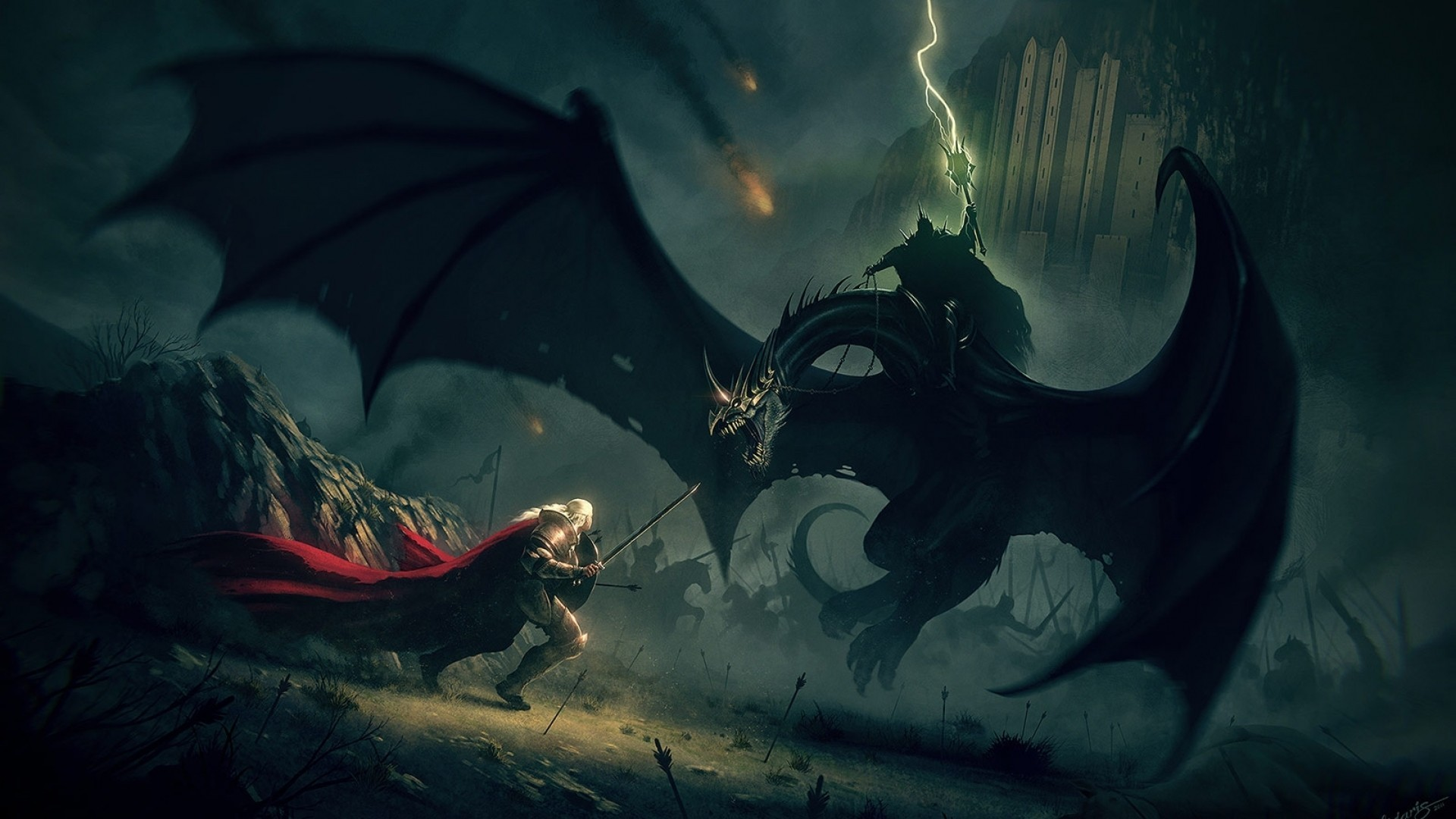 owyn vs the Witchking of Angmar.jpg