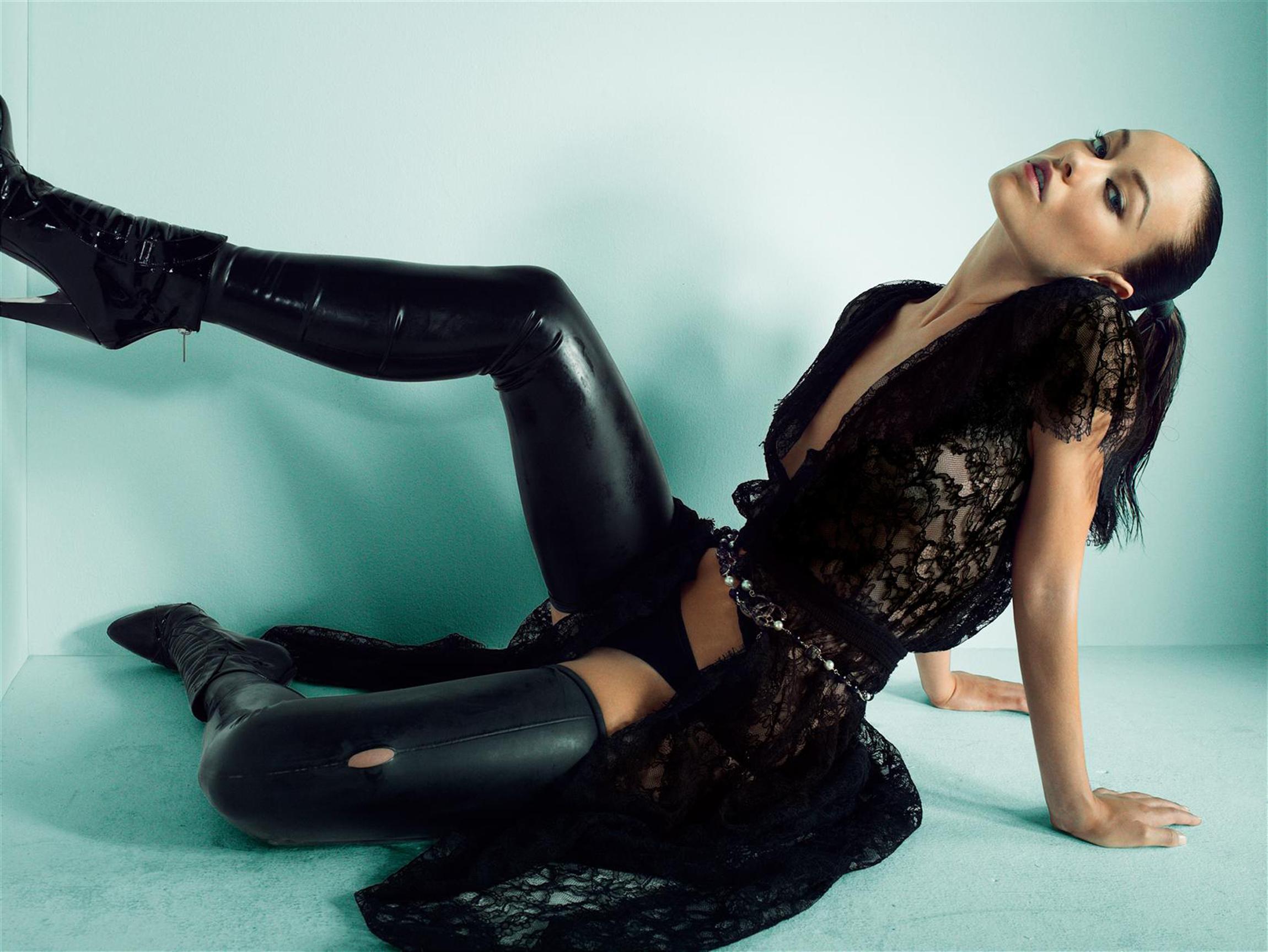Olivia is Leather