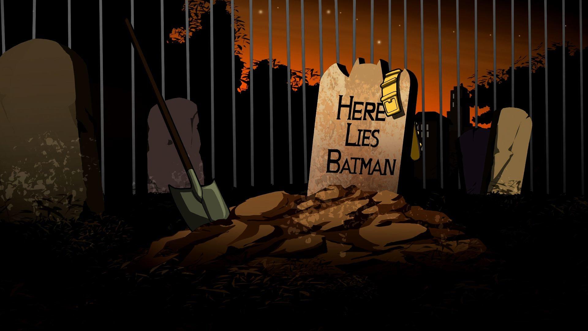 here lies batman