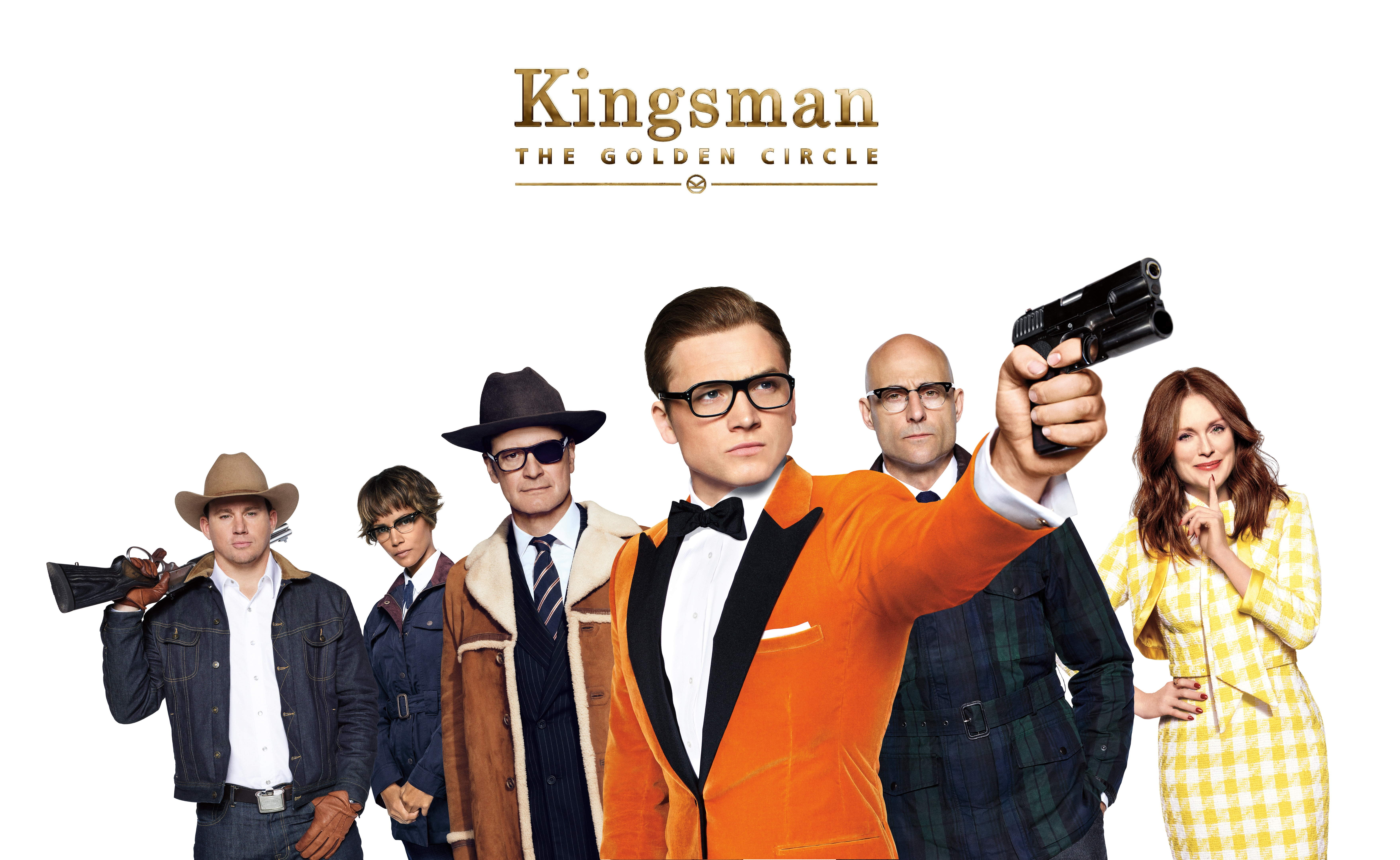 Kingsman The Golden Circle Wallpaper: Kingsman: The Golden Circle Cast