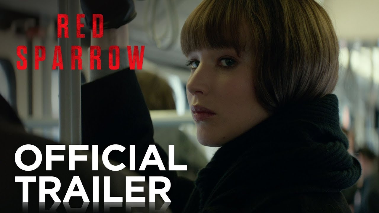 Movie Poster 2019: Red Sparrow Official Trailer HD 20th Century FOX