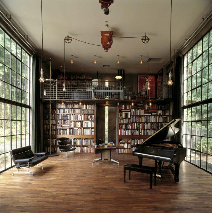 Studio at 'The Brain' in Seattle, Washington