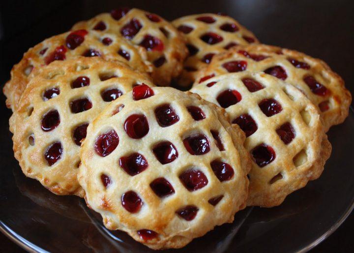 Bite Sized Cherry Pies