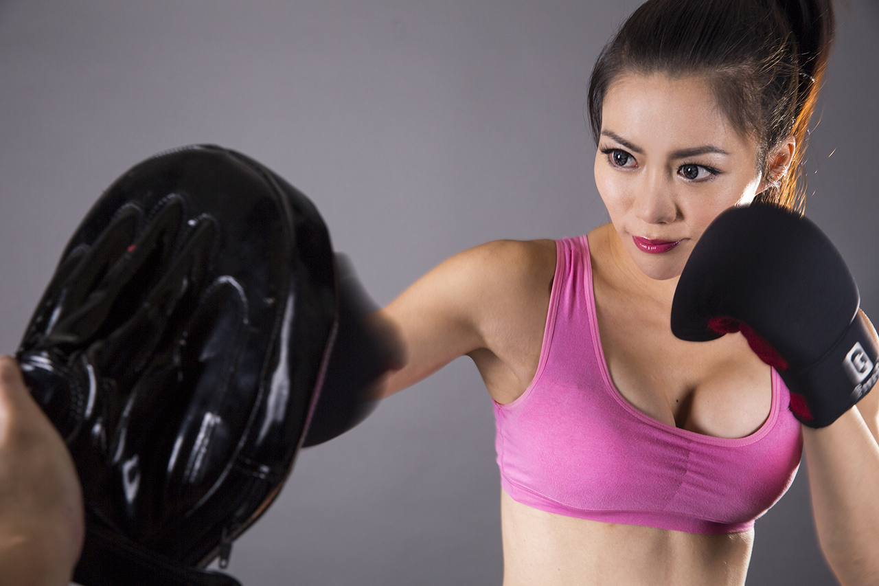 JuJu Chan pink sports bra.jpg