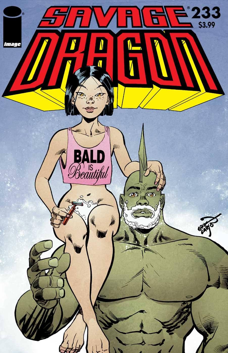 Savage Dragon #233 – Bald Is Beautiful.jpg