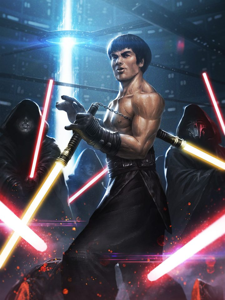 Bruce Lee vs Sith