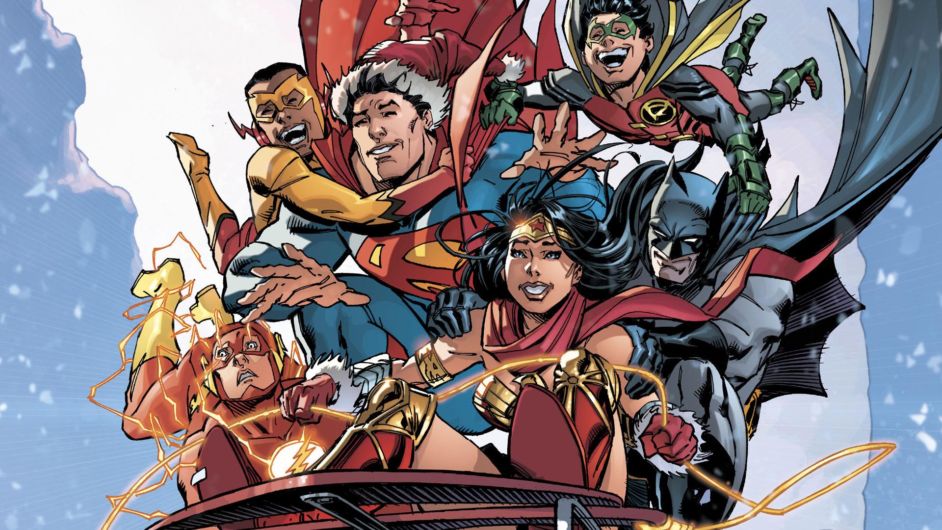 Justice League Christmas | MyConfinedSpace