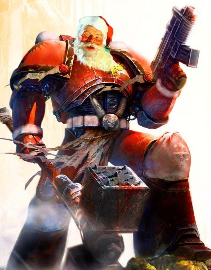 Warhammer Santa