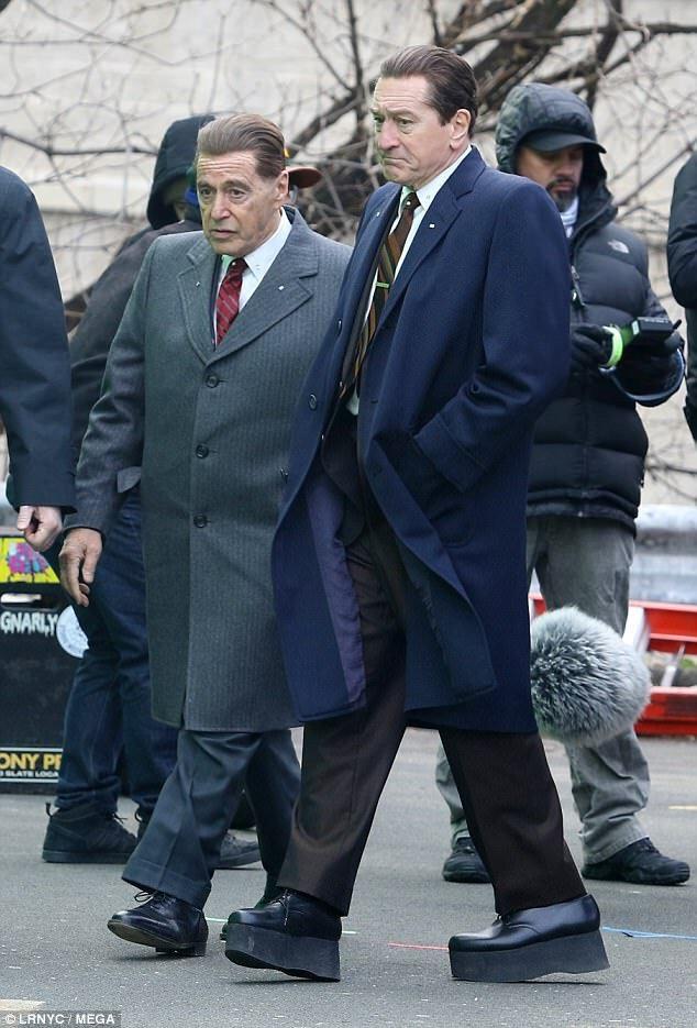 Al Pacino Robert De Niro and his shoes