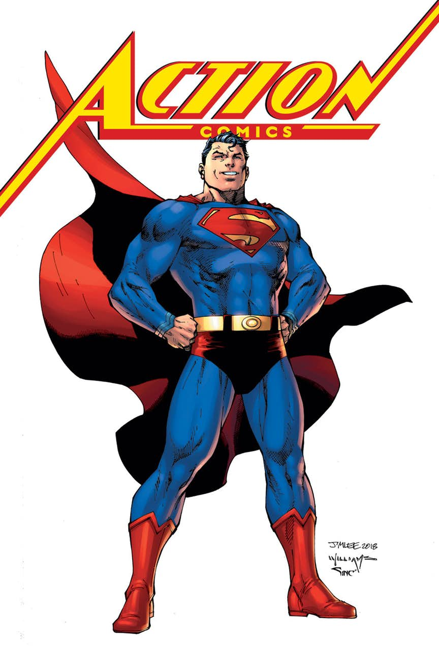 action comics 1000 Action Comics #1000 review