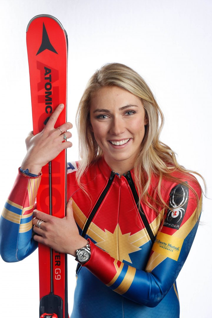 Mikaela Shiffrin is Captain Marvel