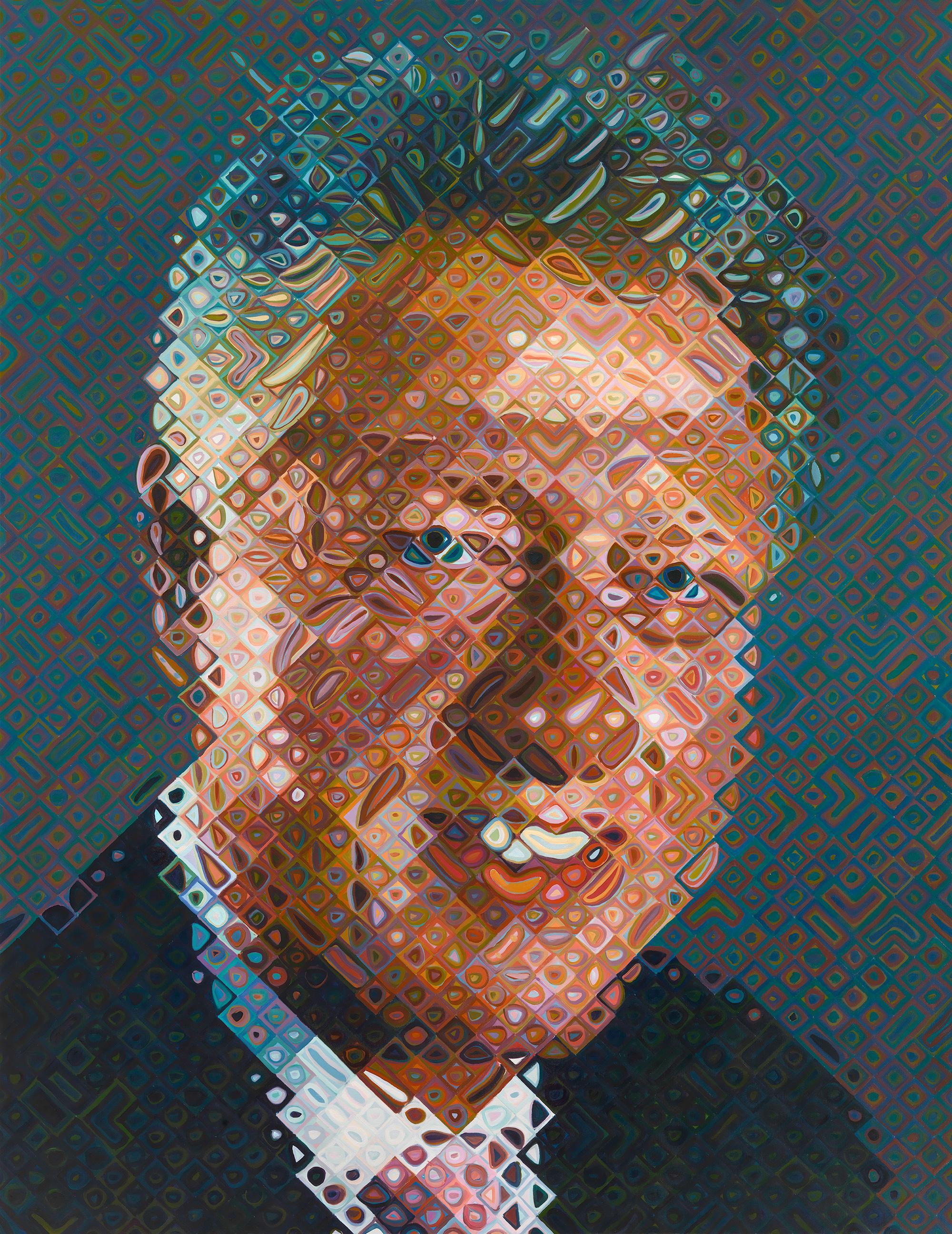 Clinton's Smithsonian portrait