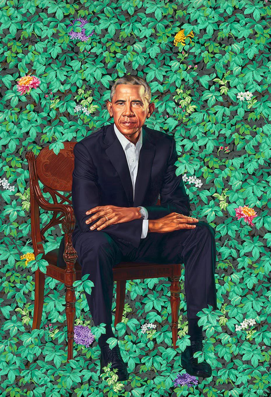 Obama's Smithsonian portrait
