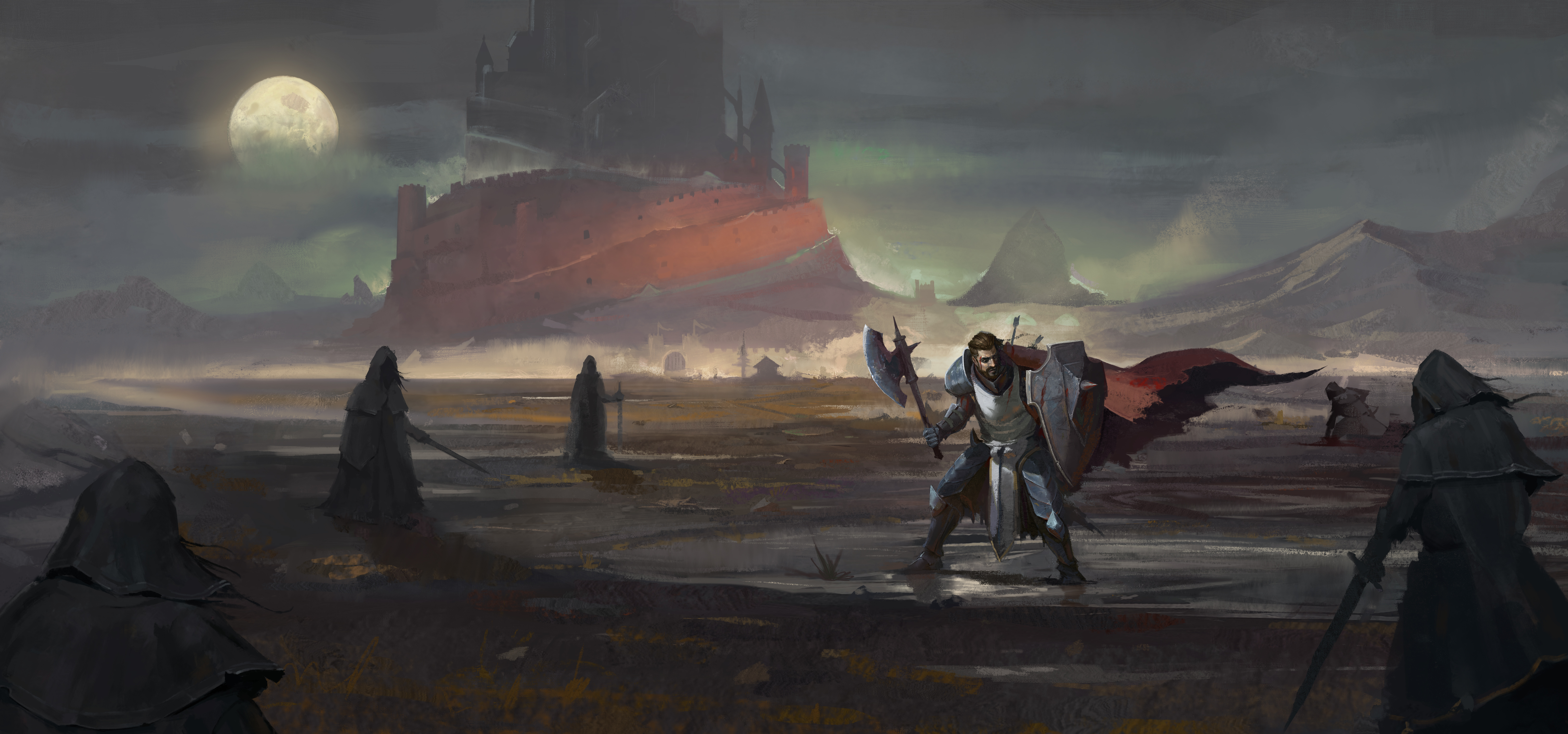 Wraith Confrontation