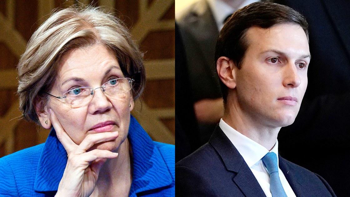 Elizabeth Warren Prepares to Make Kushner's Life Hell