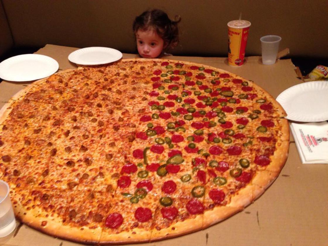 Big Pizza Confusion