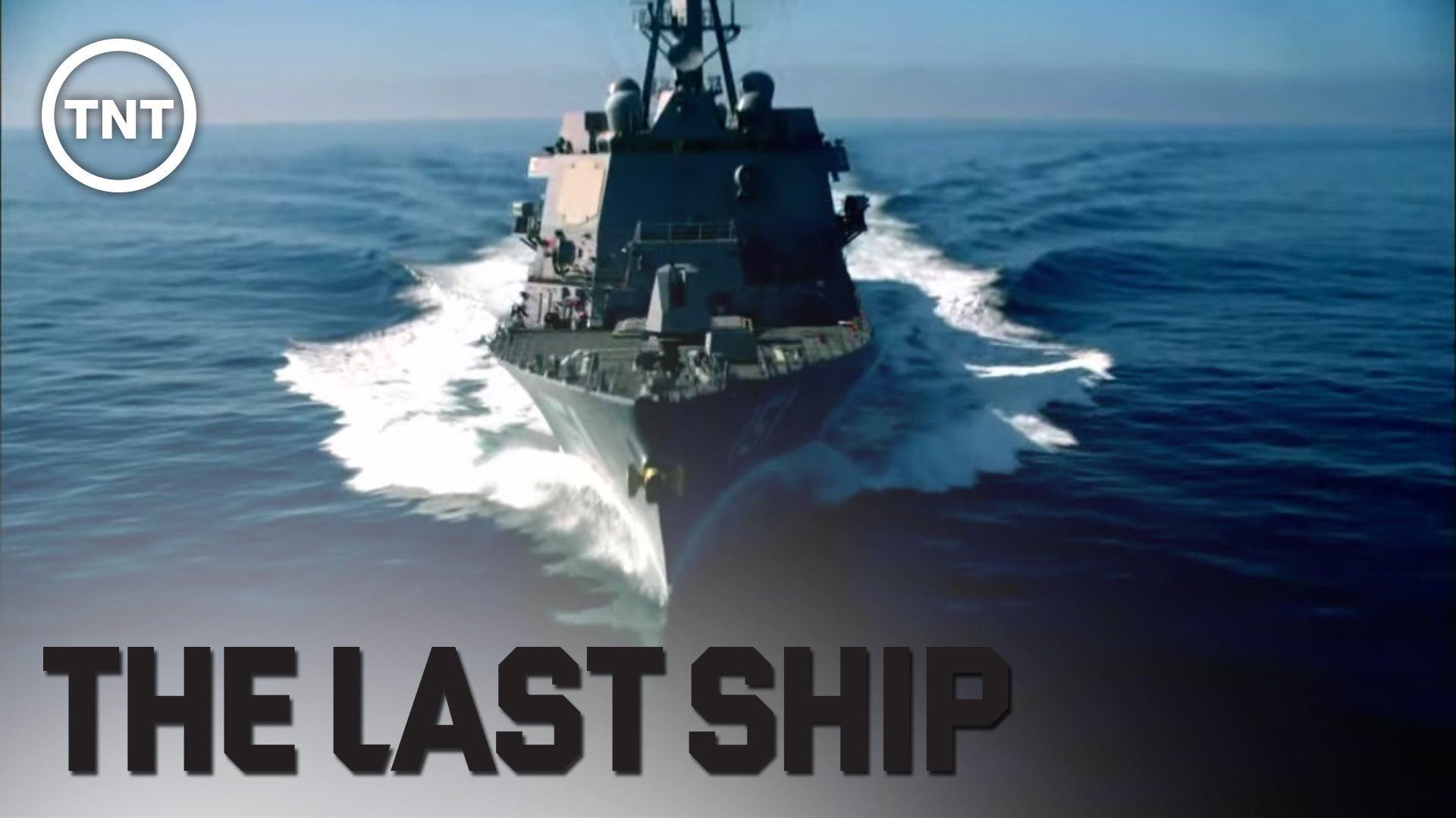 The Last Ship in motion