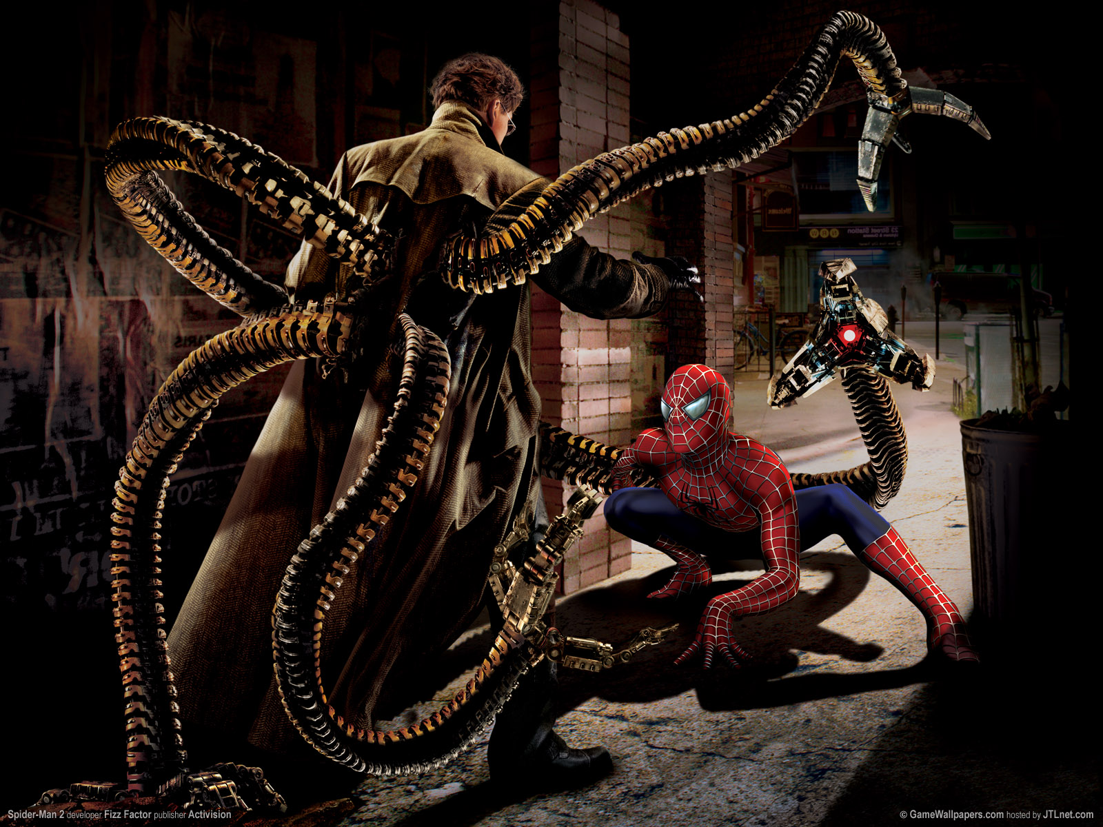 doctor octopus vs spiderman