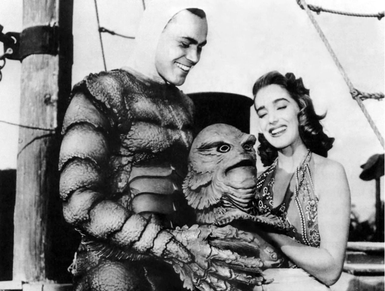 julie adams and the headless creature